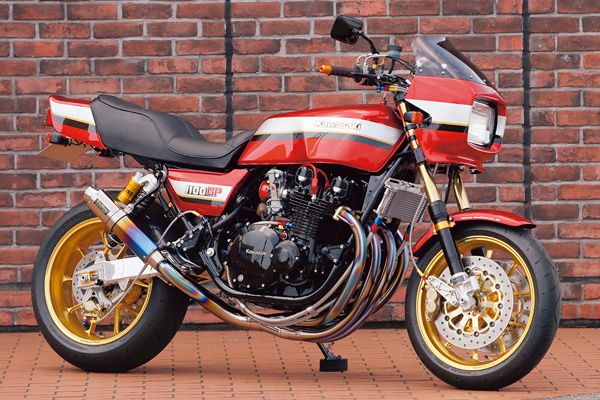 Kawasaki Z 1100 GP - This is one awesome looking machine. Always loved these colours.