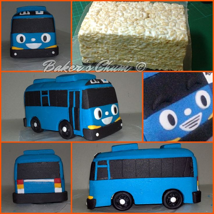 25+ Best Ideas About Bus Cake On Pinterest