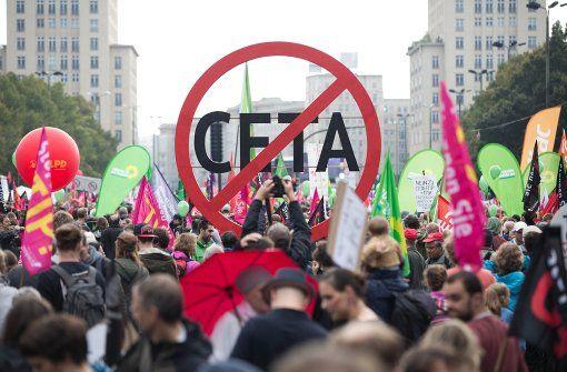 Áus für Ceta - Keine guten Zeiten für Europas Freihandel