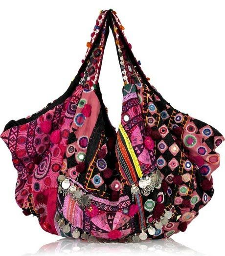 Boho Bags, I have a thing for purses and this one is amazing!!!                                                                                                                                                                                 Mais