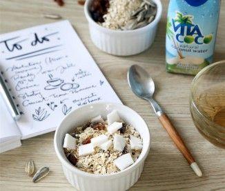 La recette du coco muesli