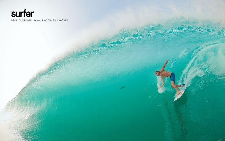 Bede Durbidge, Java. Photo: Zak Noyle #surfer #surferphotos