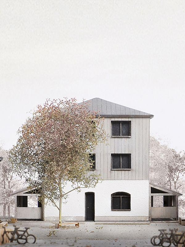 Masterarbeit Land Und Dichte Von Haosen Hu Technische Universitat Braunschweig Dies In 2020 Technische Universitat Architekturwettbewerb Architektur Prasentation