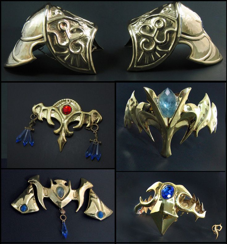 Wish I'd had this armor when we tried making a Zelda costume..
