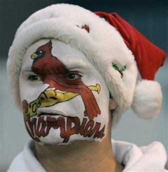 Image result for crazy st louis cardinals fan