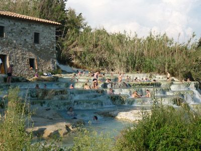 Saturnia Thermal Springs: the Terme di Saturnia  A Spa in Tuscany made by Gods in Maremma, Italy. (on the way to roma from pisa!)