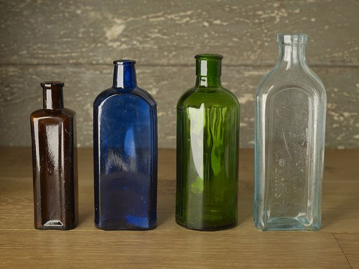 Old Glass Bottles Part - 21: Old Glass Bottles