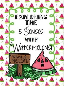 This is a great unit to kick off your school year!  This unit offers weeks' worth of fun!  This unit has activities and practice pages for your students to learn and practice with their 5 senses.  It also incorporates the learning of watermelons.  The students will put their 5 senses learning to practice on fun watermelon activities!
