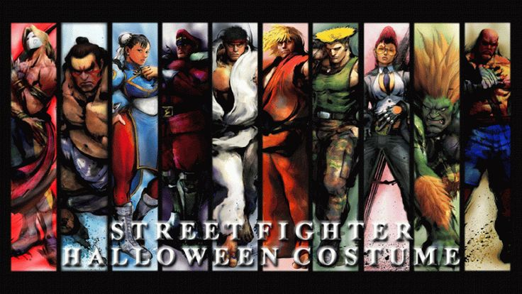 17 HALLOWEEN STREET FIGHTER COSTUMES FOR GAMER - FIND YOUR FUTURE