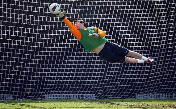 Messi as a goalkeeper