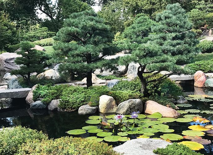 History And Modern Design Of Japanese Gardens Pond Trade Magazine Japanese Garden Garden Design Japanese Garden Design