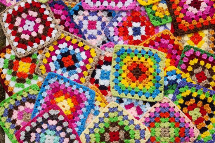 Granny Squares jigsaw puzzle