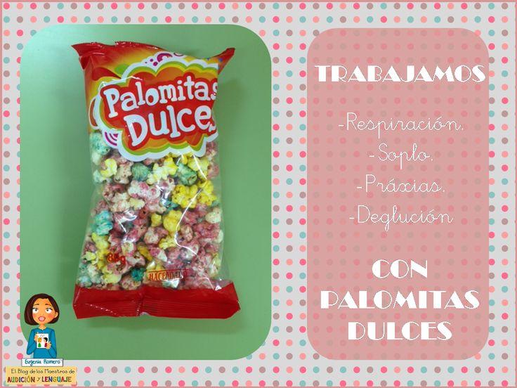 Trabajamos Terapia Miofuncional Con Palomitas Dulces