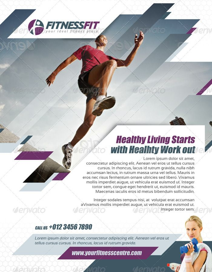 75 best images about inspire fitness on pinterest flyer for Fitness brochure template