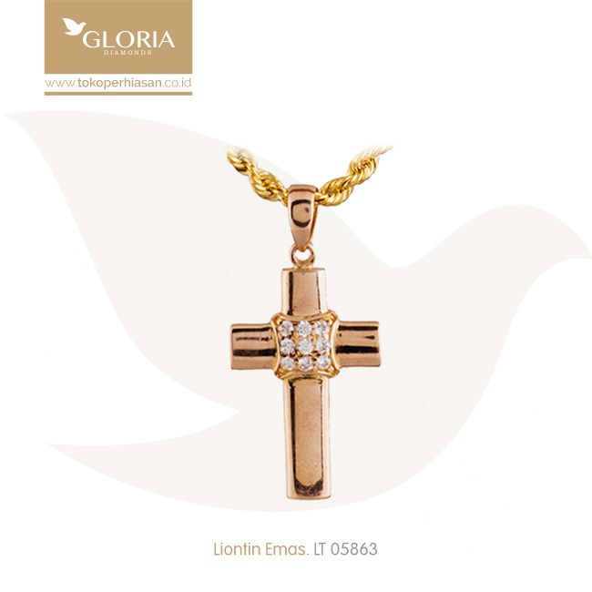 Liontin Emas Salib Polos Mata Cubiz Zerconia. #goldpendant #goldstuff #gold #goldjewelry #jewelry #pendant #perhiasanemas #liontinemas #tokoperhiasan #tokoemas