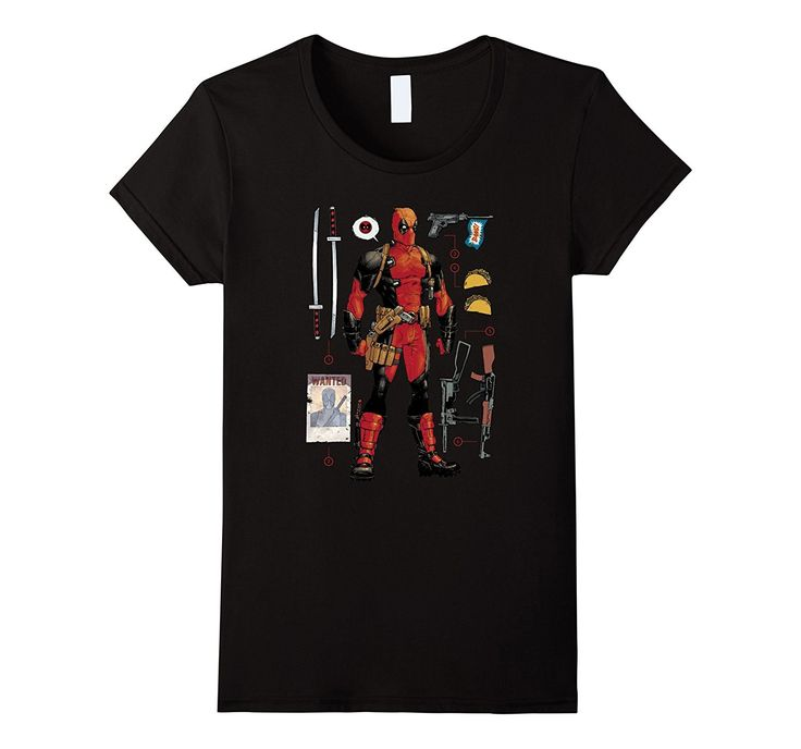 Deadpool Accessories Graphic T-Shirt