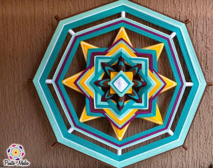 Mandala de la fuerza y la voluntad. Símbolo de espiritualidad y libertad. www.facebook.com/Ptomedio