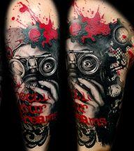 Amelia Whitney, Female tattoo artist, Club Tattoo, mesa, phoenix, ink master, Chandler, tattoos, realistic tattoos, Trash polka tattoo, traditional tattoo,