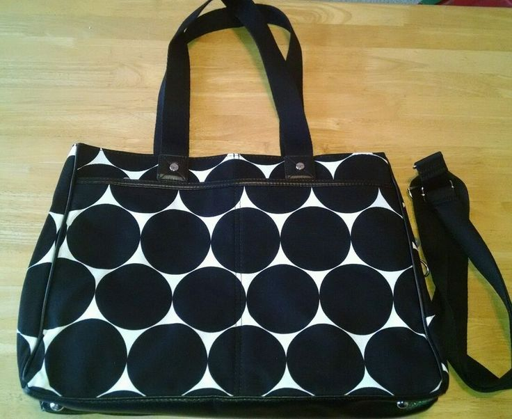 THIRTY ONE SUITE SUCCESS TOTE BIG DOT Excellent condition #ThirtyOne #Tote