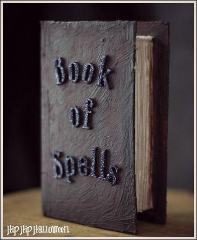 25 Best Ideas About Halloween Spell Book On Pinterest