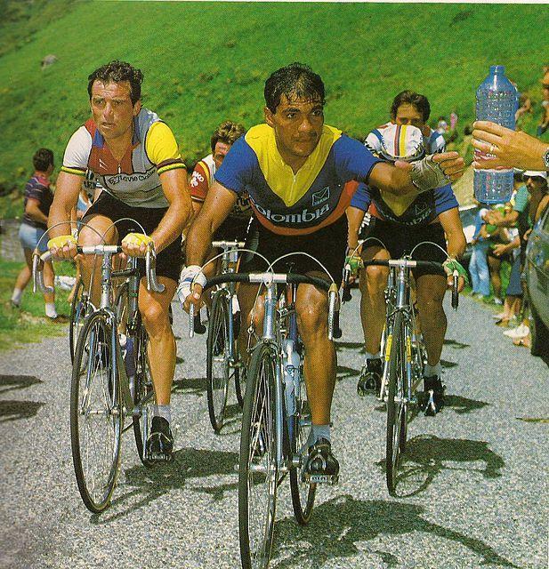 Tour 1984-Hinault y los colombianos