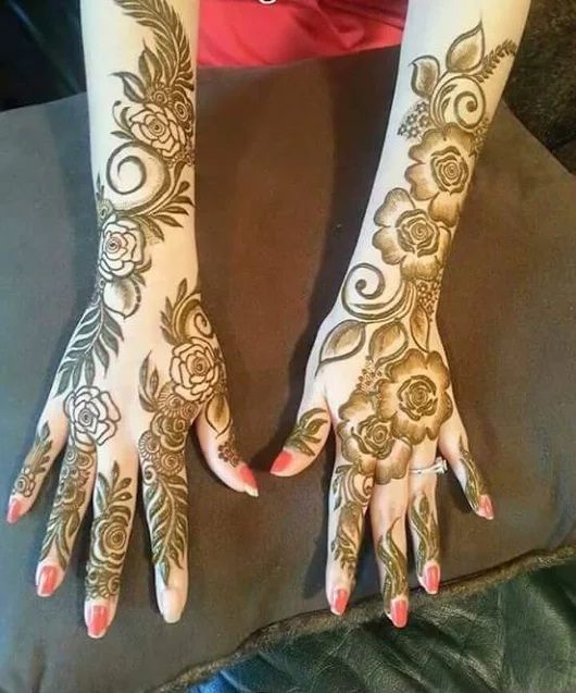 Mehandi Designs 2016-17 | Latest Pakistani Henna Mehndi Pics