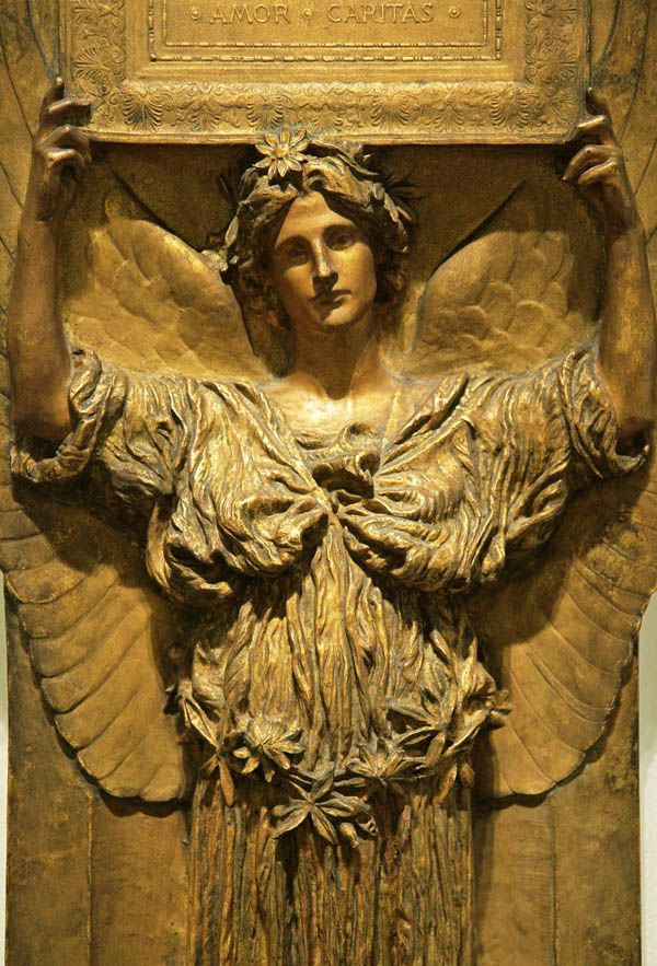 Saint-Gaudens, Amor Caritas, modelled in the 1880s; cast 1908, Corcoran Gallery