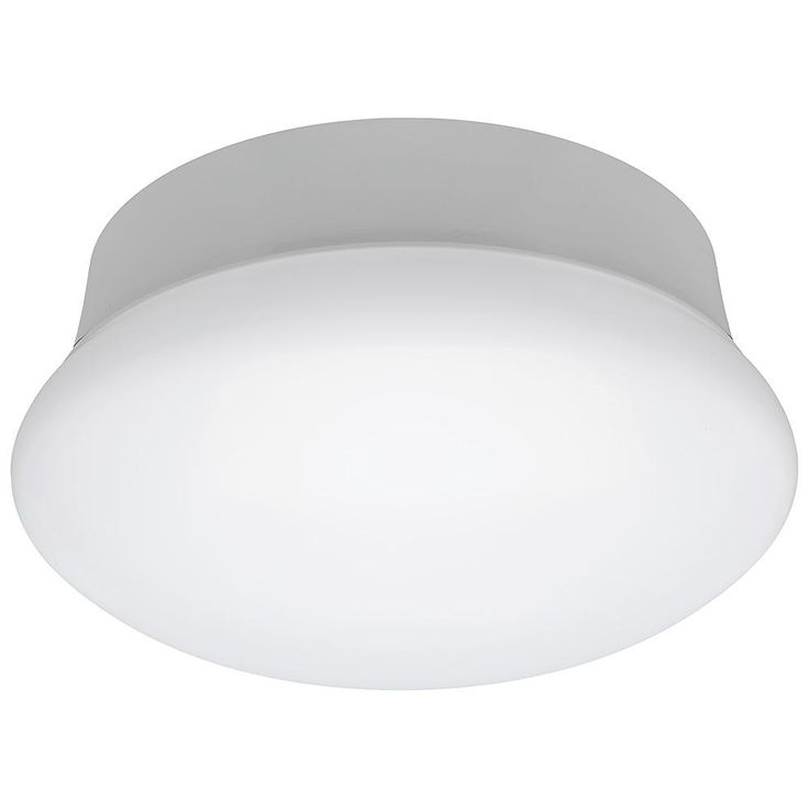Commercial Electric 7 in. Color Changing 60-Watt Equivalent 3000K White Integrated LED Flushmount