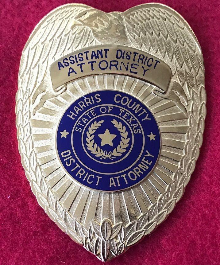 Harris County Texas Assistant District Attorney, Hallmark G.R.Davis, Numbered '341' on buck