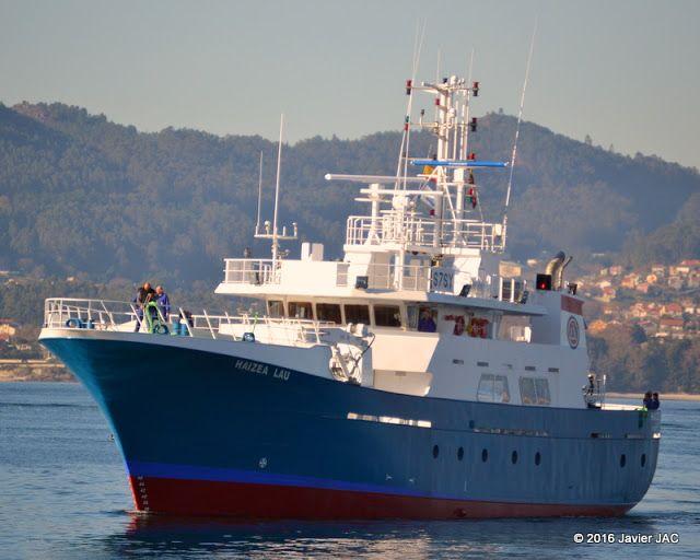 "Industria naval española: ""HAIZEA LAU""   IMO 9784805 matricula de Port Victo..."