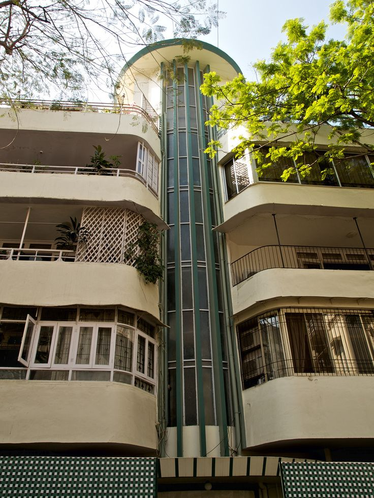 #ArtDeco | Apartment building, Mumbai, India
