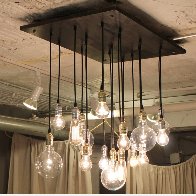 This would look cool in the Casita...make it or where do I buy it    Cool chandelier find at Fab-