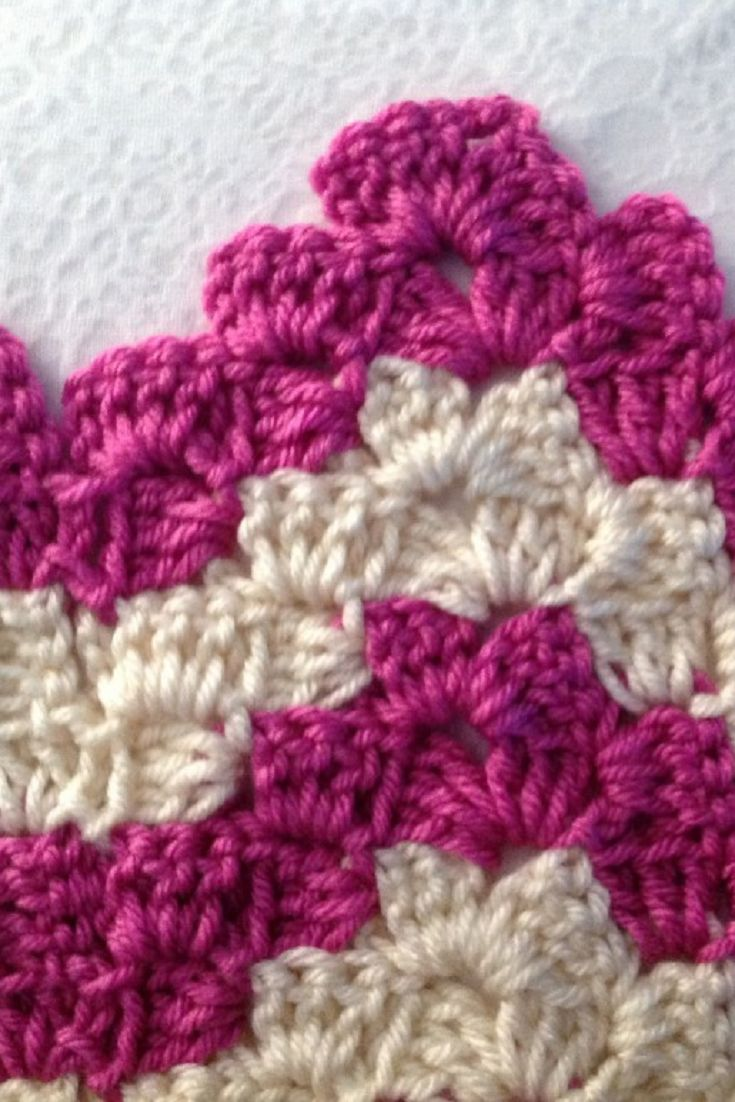 Learn A New Crochet Stitch: Vintage Rippling Blocks