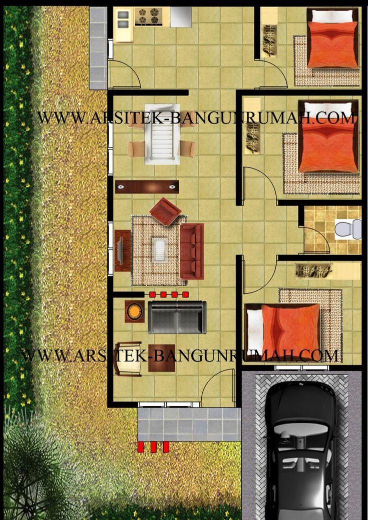 200+ Contoh Gambar Model Desain Rumah Minimalis Idaman ...