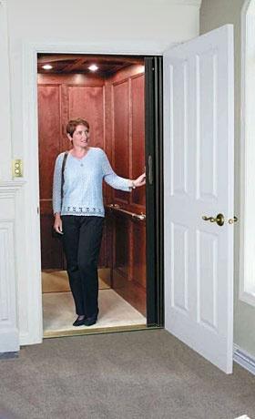 I really, really, want a home elevator!