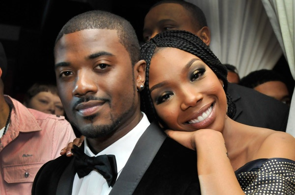 Ray J and Brandy Norwood.  I love their siblinghood(?).  Is that a word?