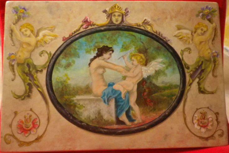 Venere e Cupido di blucianoarte su Etsy