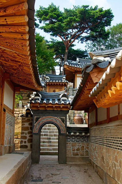 Seokpajeong Villa, Seoul || By Robert Koehler (Historic Korean village,) South Korea