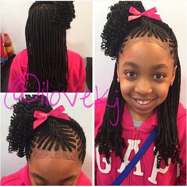 Hairstyles For Kids Girls New 38 Best Little Girl Hairdos Images On Pinterest  Black Girls