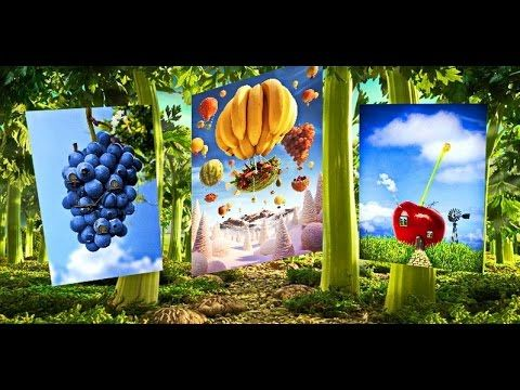 Сказочные пейзажи из продуктов  (Carl Warner)