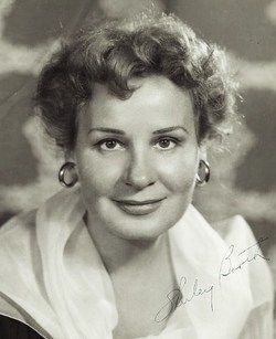 Shirley Booth (August 30, 1898 - October 16, 1992) American actress (o.a. from the Oscar winning movie Come back, little Sheba).