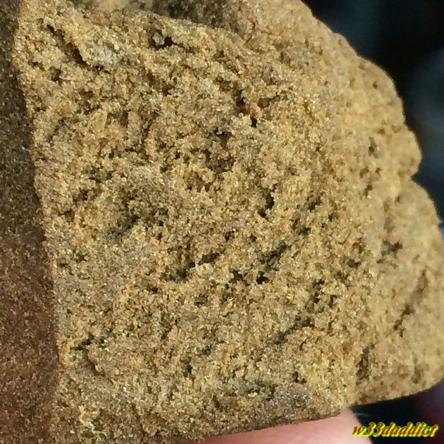 how to make pollen hash