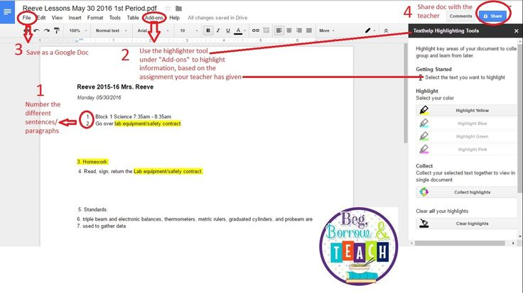 how to highlight text in pdf online