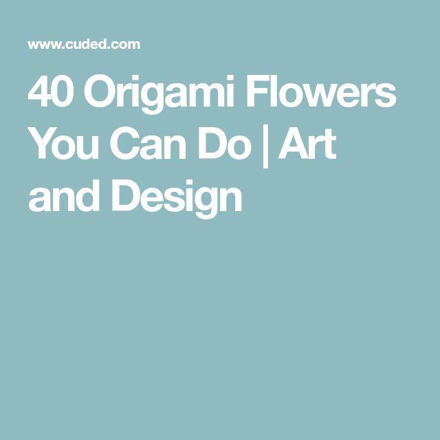 25 unique origami flowers ideas on pinterest origami