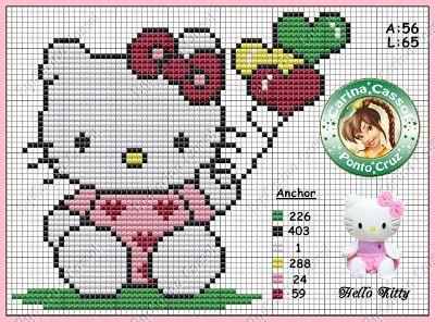 Magic dots: Hello Kitty Graphics.