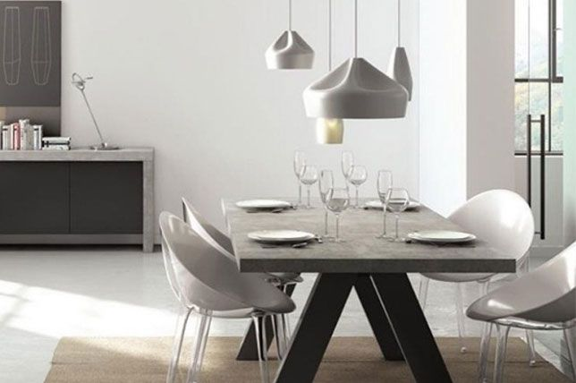 20 Home Design Trends For 2019 Concrete Dining Table