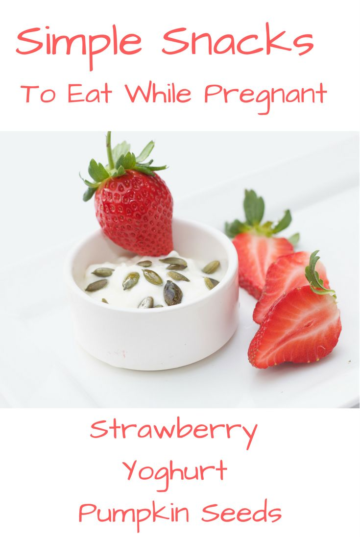Curb your cravings during pregnancy. This simple snack will keep you focused on your healthy lifestyle