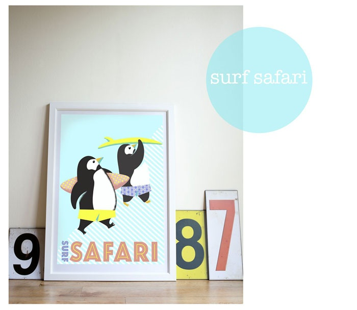 surf-safari by Nellie Ryan