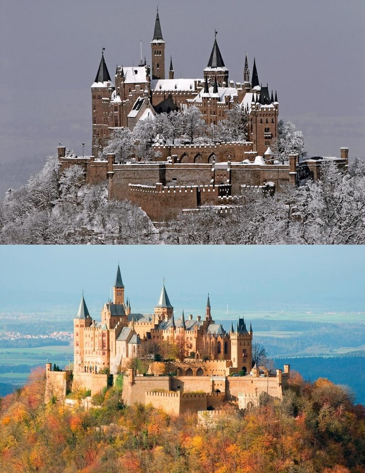 A must-see for anyone who travels to the region of Baden-Wurttemburg in southwest Germany.  A castle still called home to a royal family, but, also open to visitors.  Hohenzollern Castle.