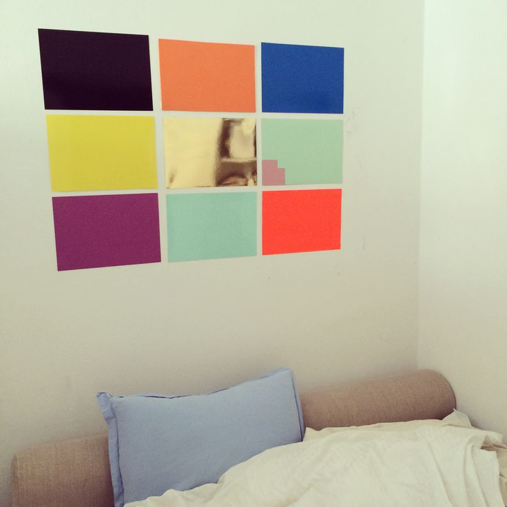 New colors on The Wall